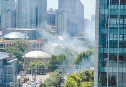 男子疑人格障礙 燃爆裂物反傷己!駐京使館爆炸 美陸說法分歧