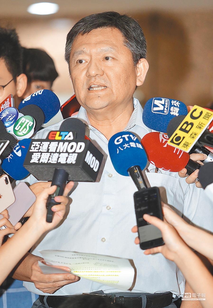 體育署副署長林哲宏24日表示,體育署將全力支持台中市政府、中華奧會循管道申訴。(本報系資料照片)