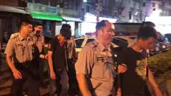 新莊晚間傳砍人事件 疑停車糾紛3男持西瓜刀砍2人