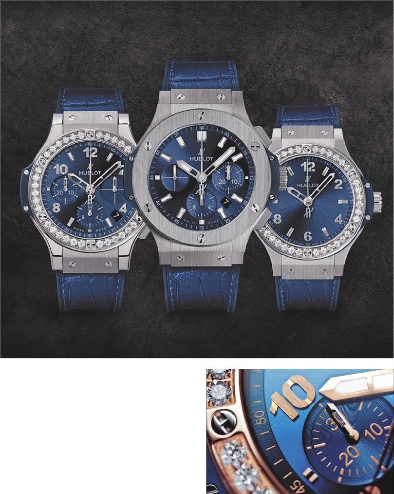 宇舶錶情人對錶 守護愛戀時光 圖片提供宇舶錶