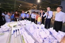 林佳龍參訪新竹300博覽會 與竹市彰縣兩首長互動熱絡