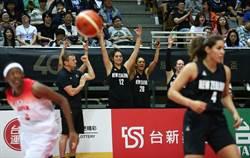 瓊斯盃女籃》遭紐西蘭逆轉讓出冠軍 「櫻花妹」輸得不甘心