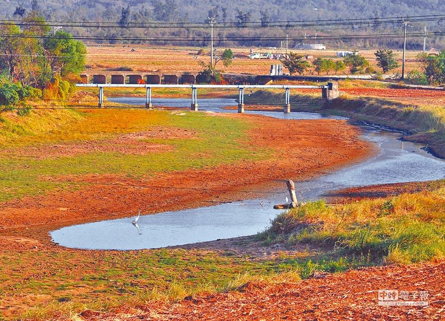 金門金沙水庫蓄水量得看老天臉色。(本報系資料照片)