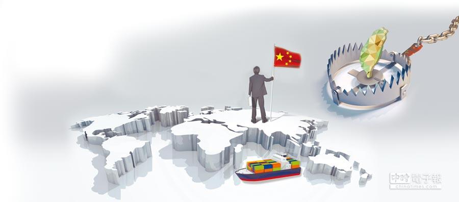 陸學者直言台灣將陷入世界體系邊緣區。(設計畫面)