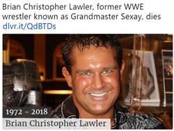 前WWE摔角手酒駕 獄中上吊身亡