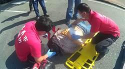 嘉市清潔隊員執勤時墜地爆頭 仍在加護病房未脫險