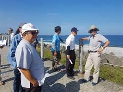 花蓮縣海岸線侵蝕嚴重 水利署會勘達成改善共識