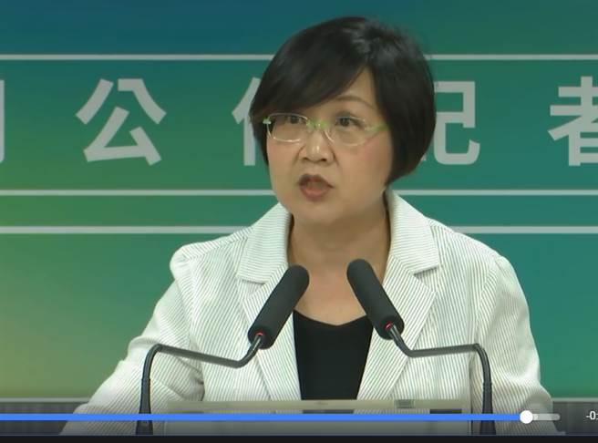 民進黨副秘書長徐佳青。(圖片取自中時電子報臉書)