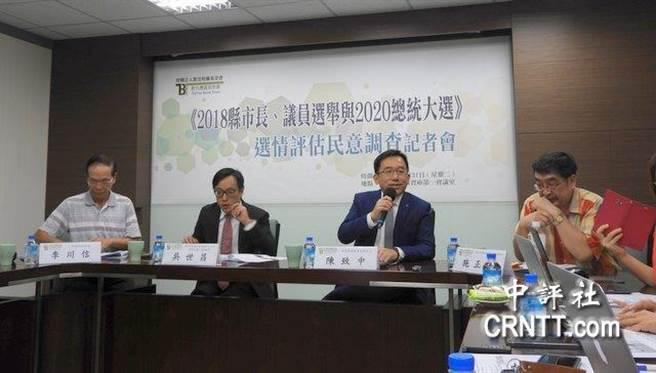 新台灣智庫舉行民調,賴清德滿意度高於蔡英文。(圖/取自中評社)