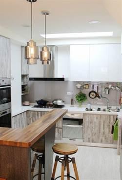 廚房總是亂七八糟?信義房屋:依照烹調順序配置廚房設備