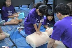 苗栗大千醫院辦小小醫師營 健康觀念從小扎根