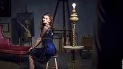 床戲採光精心設計 比利時名模做愛像作畫