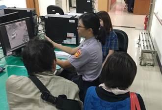 日本妹連讚台中警「思勾伊」 找尋失物有效率