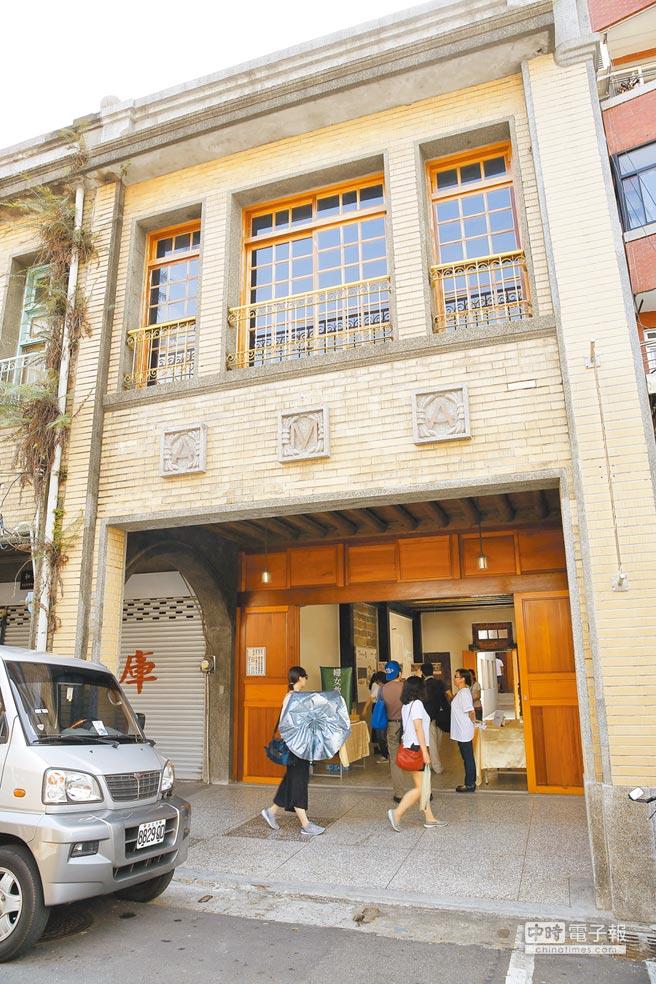 「阿嬤家──和平與女性人權館」坐落於迪化街,是一棟具有歷史價值的老建築。(本報系資料照片)
