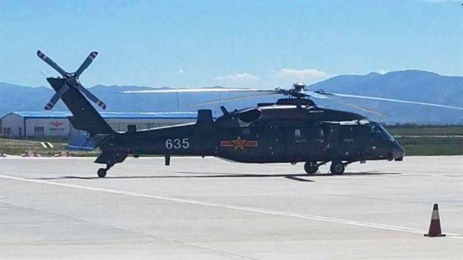 大陸的直20直升機可能在今年10月登場。(圖/YOUTUBE)