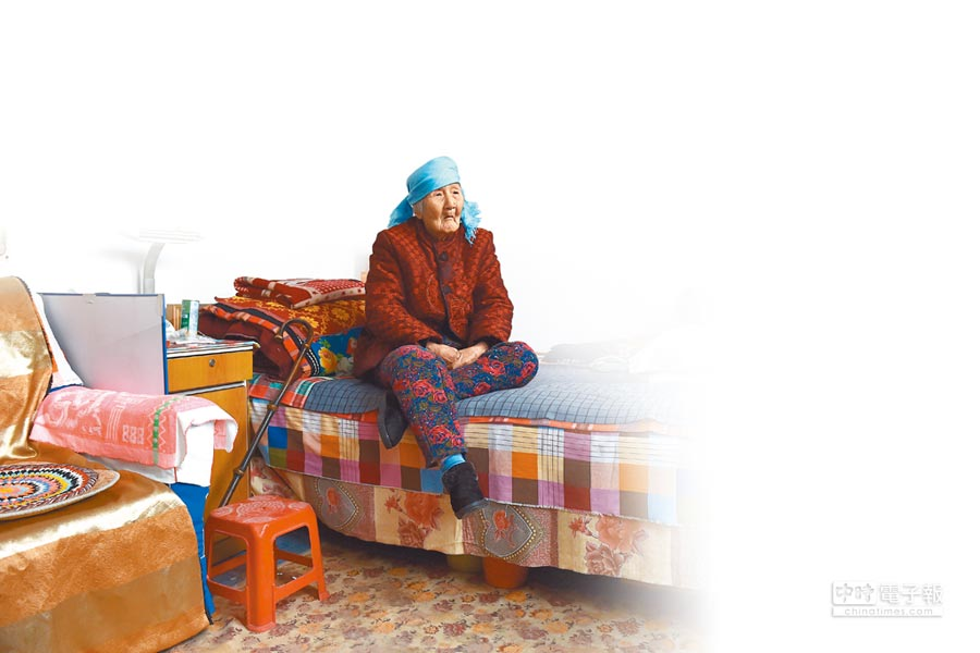大陸慰安婦曹黑毛,7月24日過世,享壽96歲。(新華社)
