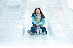 白雪變白銀 張山營鎮喜迎冬奧