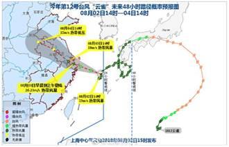 崇明、金山、奉賢、浦東發佈颱風橙色預警信號