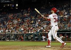 MLB》哈波回溫夯第26轟 薛爾瑟率先達成15勝