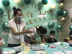 5歲血癌兒做卡片 父親節前夕謝謝爸爸