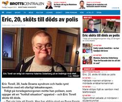 天色太暗鬧出人命?瑞典警察開槍打死持玩具槍唐寶寶惹議
