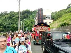 白河火王爺祭500位民眾參與 外國客體驗拉車趣