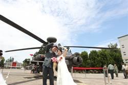 氣球禮服吸睛!陸軍聯合婚禮148對佳偶步紅毯