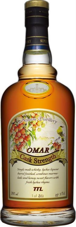 IWSC競賽 OMAR威士忌 再獲1金4銀