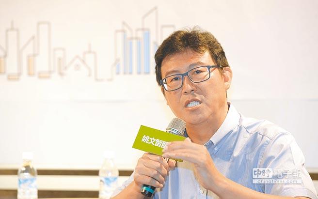 圖為民進黨台北市長參選人姚文智。(資料照片)