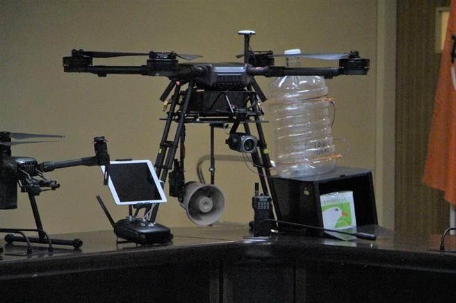 無人機於交通工程管理應用的教育訓練課程,學員們將學習操作工業級無人機。(何冠嫻攝)