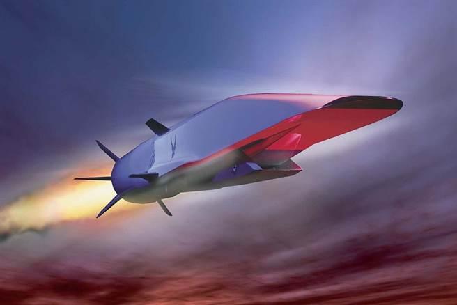 美國的X-51乘波飛行器。(圖/波音公司)