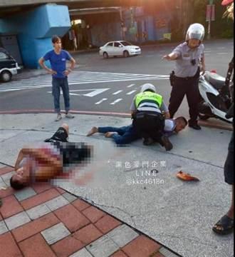 疑因上錯車  舉牌工人遭砍身中3刀
