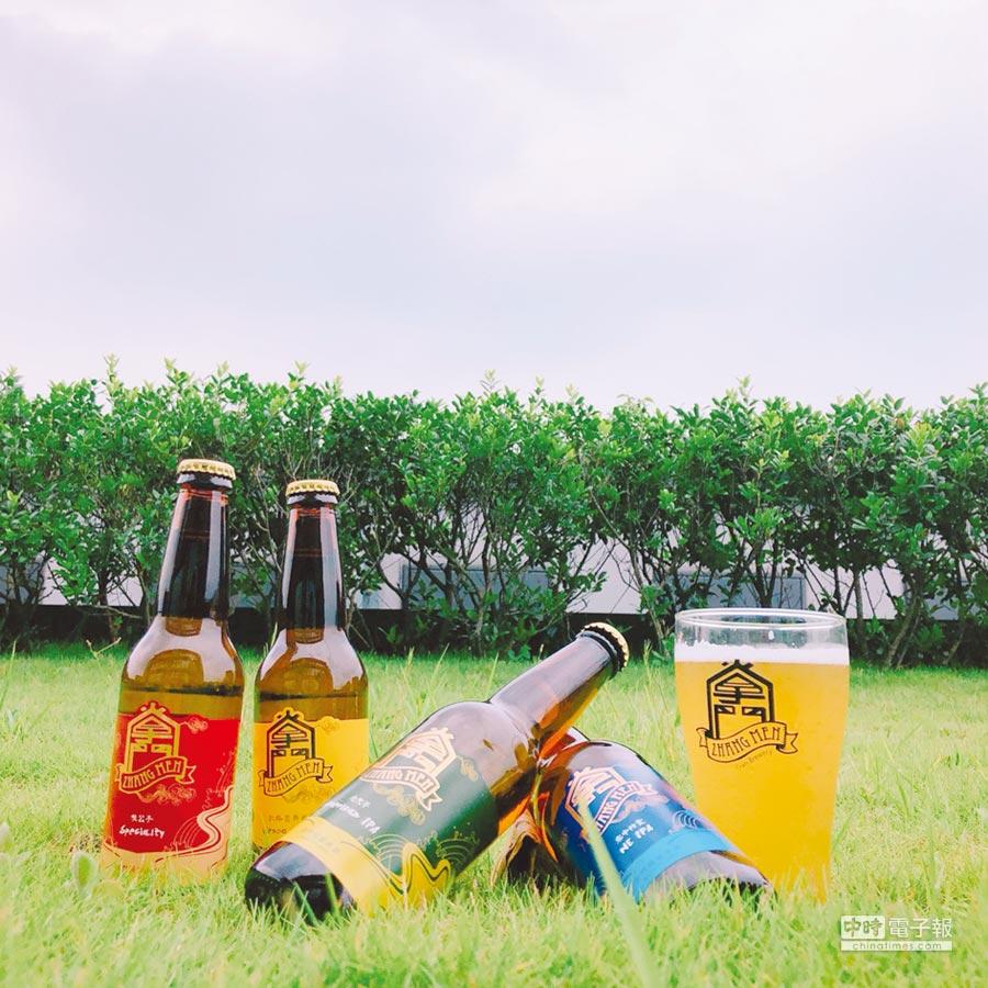 掌門精釀啤酒推出四款經典酒款夏季限定瓶裝,沁涼上市。圖/業者提供
