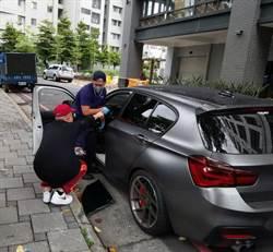 「玖壹壹」洋蔥百萬車遭破窗 中市警已鎖定特定對象
