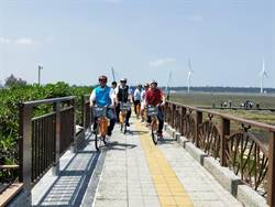 車友有迷了!高美海堤自行車道完工啟用