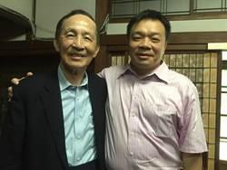 台南》父子首同框 高育仁期許高思博有機會服務家鄉