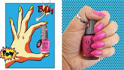 3D普普風的指尖逆襲!6款指彩讓立體的氣泡躍上指尖