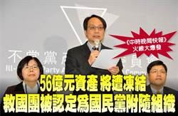 《中時晚間快報》56億元資產 將遭凍結 救國團被認定為國民黨附隨組織