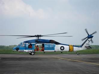 替代空軍救護隊S-70C 黑鷹救護直升機首度亮相!