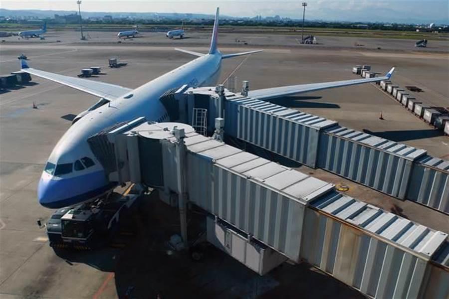 交通部一度提出停空橋、調整時間帶等措施,「懲罰」外籍航空公司更改台灣航點名稱。 (報系資料照,陳麟全攝)