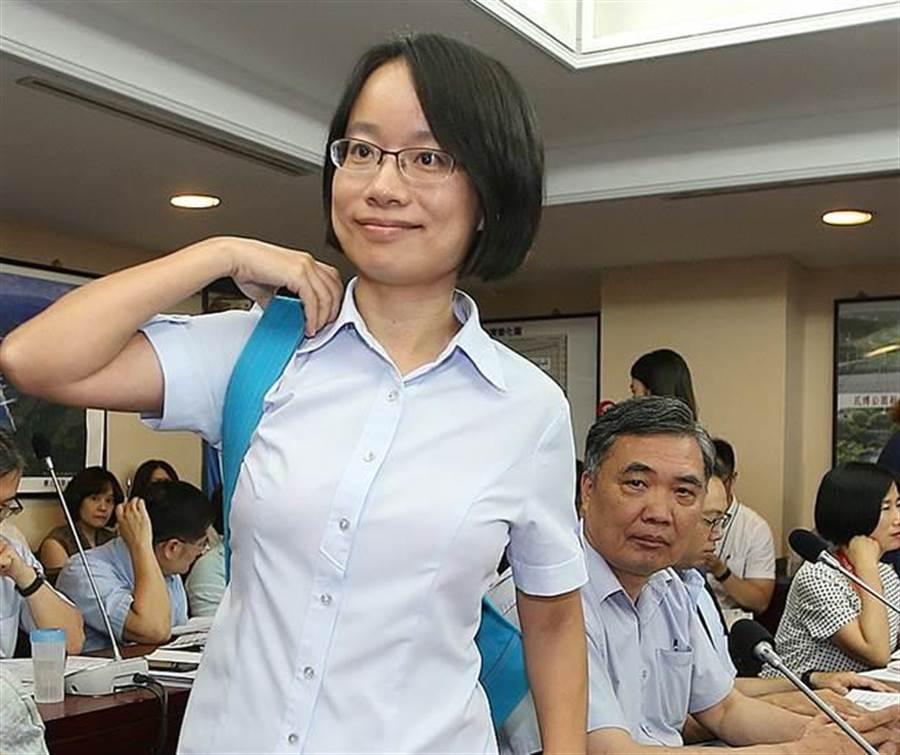 台北市農產運銷公司總經理吳音寧。(圖/本報系資料照片)