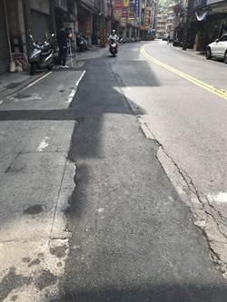 東信路埋管回填「路不平」民怨險象環生