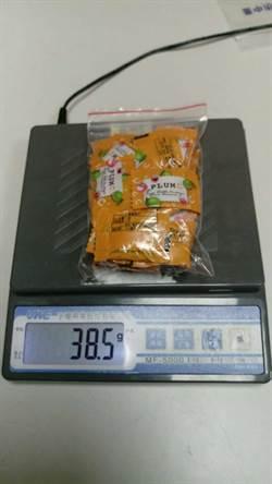 中市警大數據查緝奏效 攔阻足供近千人食用糖果毒包