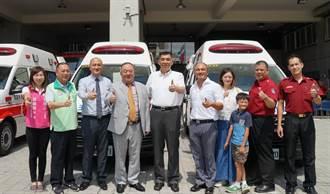 三星營造捐三輛救護車 造福新北市民
