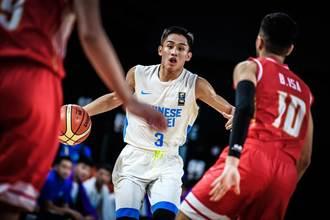U18男籃》第3節只拿3分 中華飲恨巴林