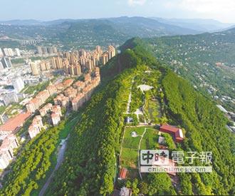 巴中森林覆蓋率 提高至58.8%