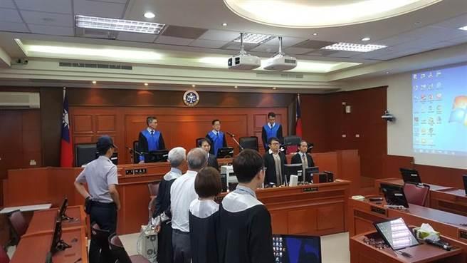 8月8日,蘇炳坤案高院宣判。(林偉信攝)