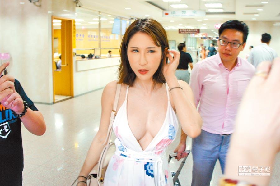 女網友罵辣模辛尤里(見圖)勾引男人,3罪計 判拘役60日。(中時資料照)