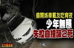 《全台最速報》偷開姊車吃宵夜!少年無照載友失控釀2死