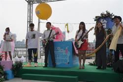 台北河岸音樂季 首推320秒水幕煙火秀